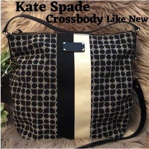 LIKE NEW-Auth VTG Kate Spade Dot Noel Crossbody